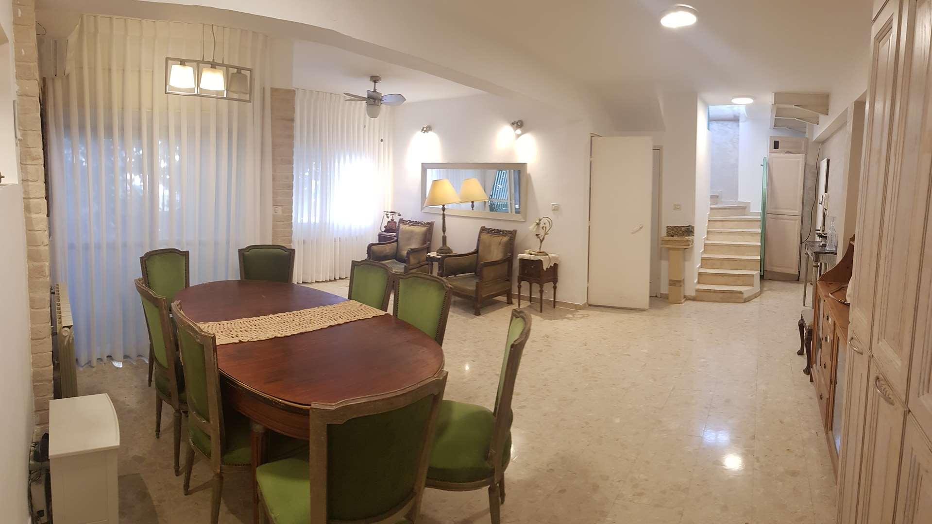 טריפלקס להשכרה 7 חדרים ביירושלים נקדימון קטמון הישנה
