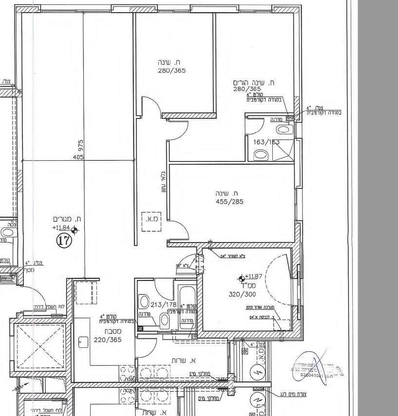 דירה, 5 חדרים, 1, בית דגן