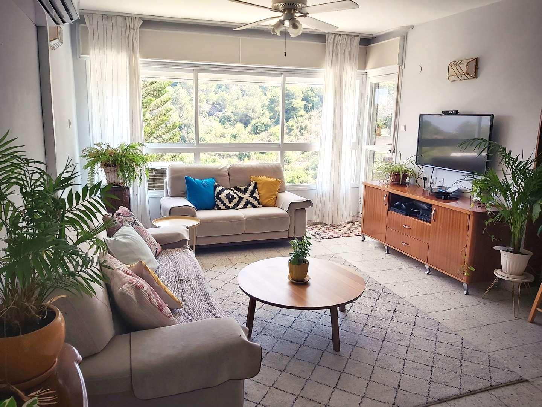 דירה להשכרה 4 חדרים בחיפה שלון