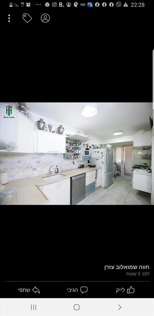 דירה להשכרה 5.5 חדרים בחדרה  רמב