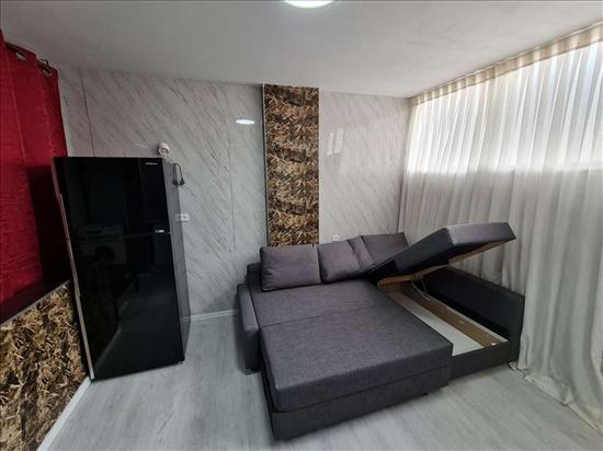 דירת סטודיו להשכרה 1.5 חדרים בנתניה גד מכנס חוף הים הטיילת