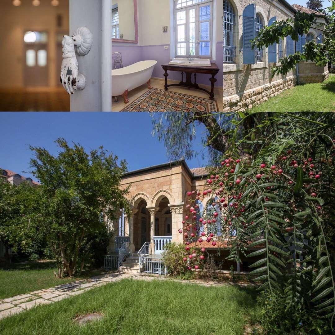 בית פרטי להשכרה 10 חדרים בירושלים רות  המושבה הגרמנית