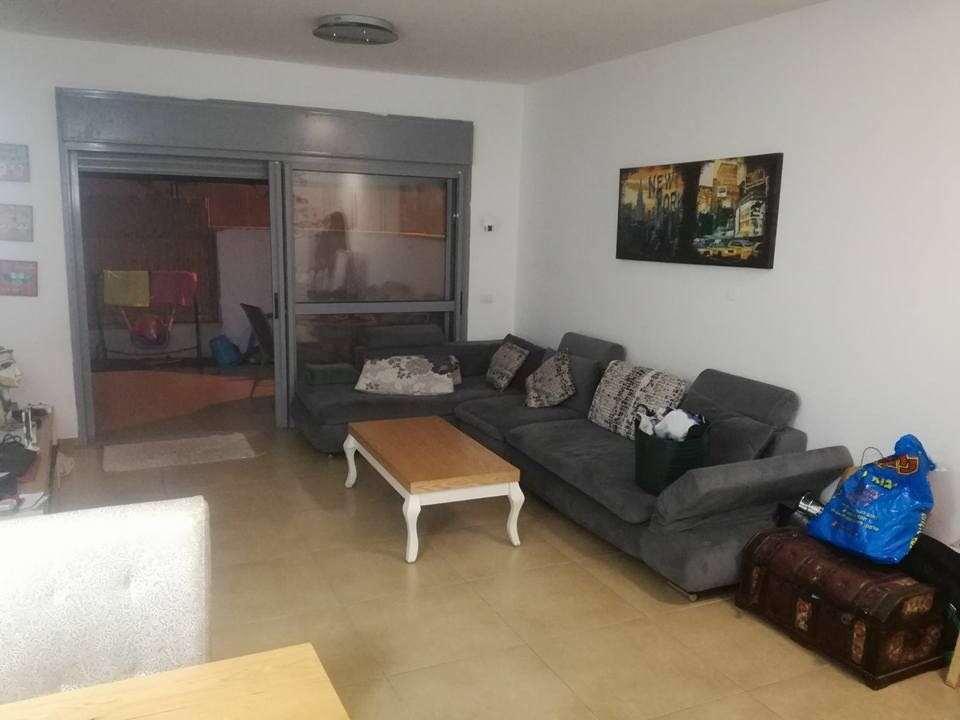 דירת גן להשכרה 4 חדרים בצורן יצחק  רבין רמת אמיר