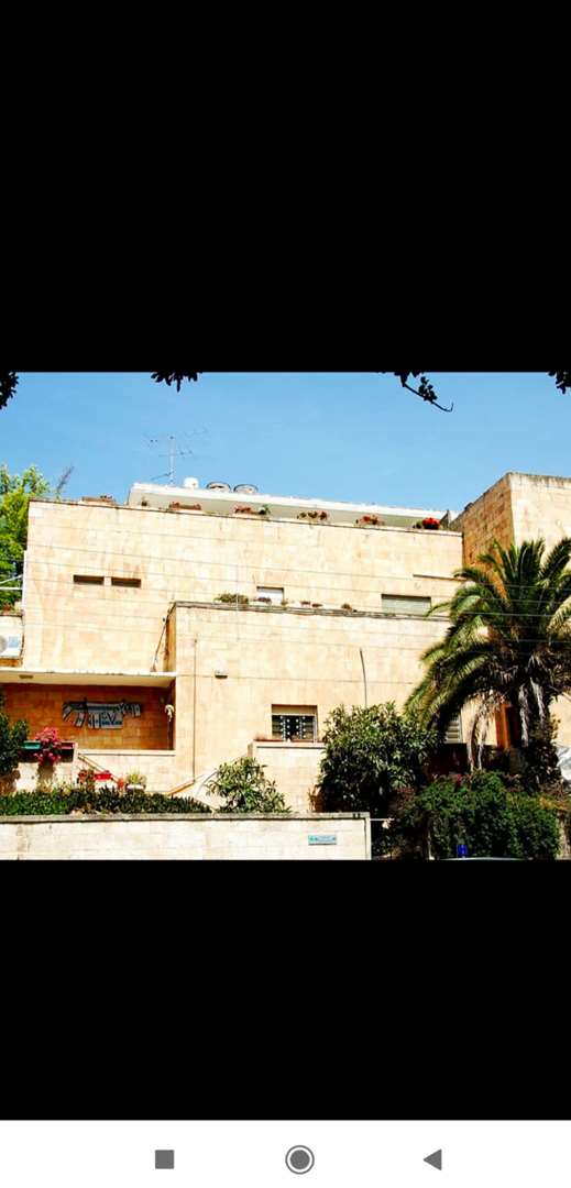 דירת גג להשכרה 3 חדרים בירושלים בן מימון רחביה