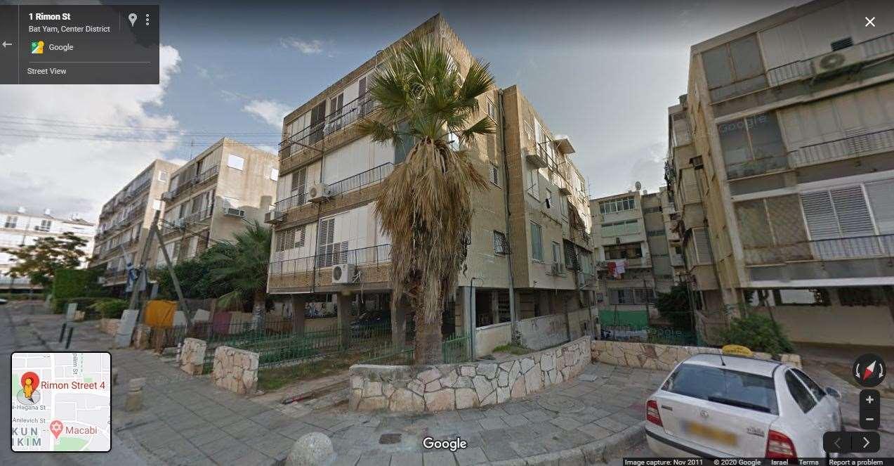 דירה להשכרה 3.5 חדרים בבת ים רימון