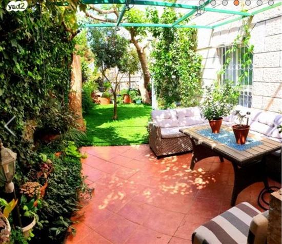 דירת גן להשכרה 4 חדרים בירושלים נתיב המזלות פסגת זאב