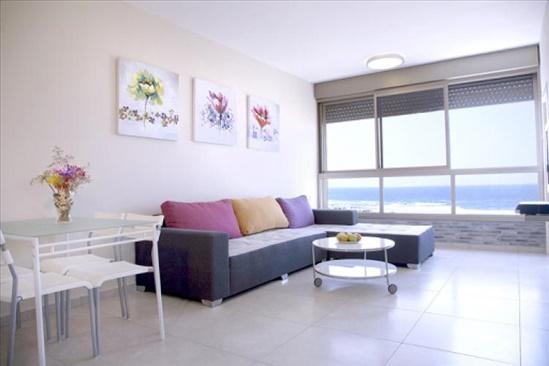 דירה להשכרה 2 חדרים בבת ים דרך בן גוריון חוף הים