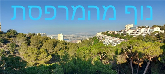 דירה להשכרה 4 חדרים בחיפה שמשון אחוזה