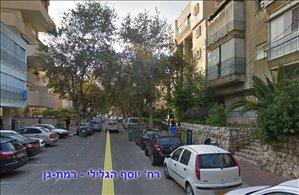 דירה להשכרה 2 חדרים ברמת גן יוסף הגלילי