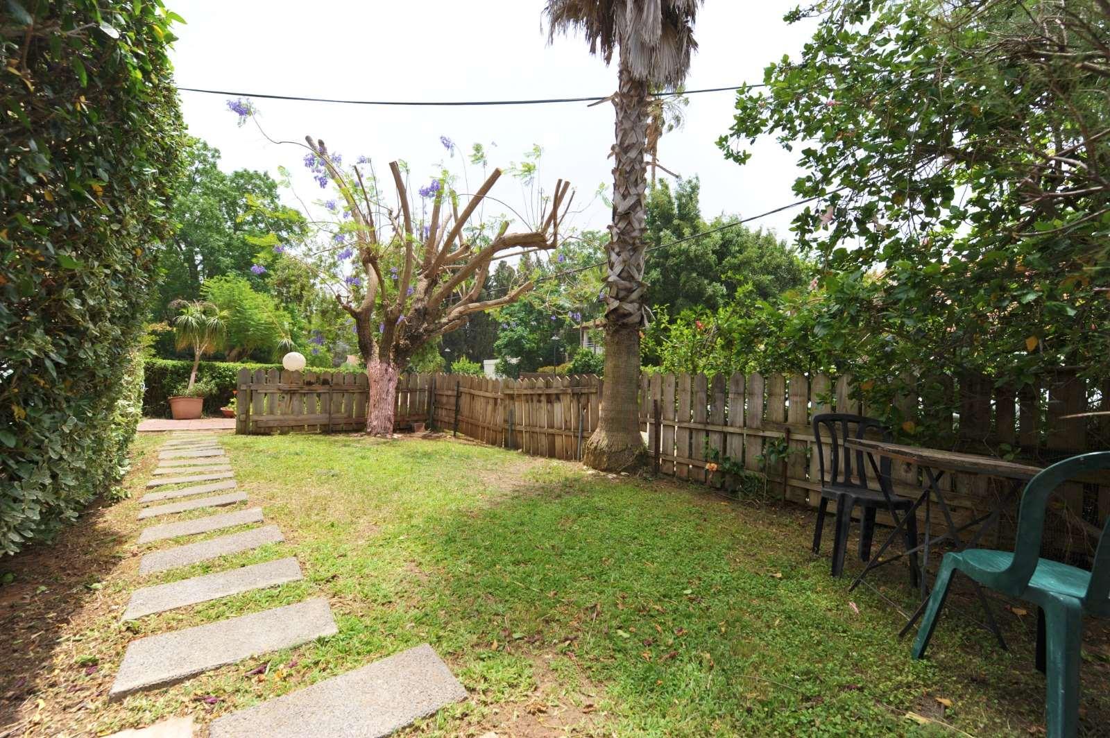 דירת גן להשכרה 3 חדרים בסביון החצב גני יהודה