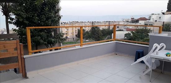 דירת גן למכירה 4 חדרים בטבריה רמח''ל שיכון ב'