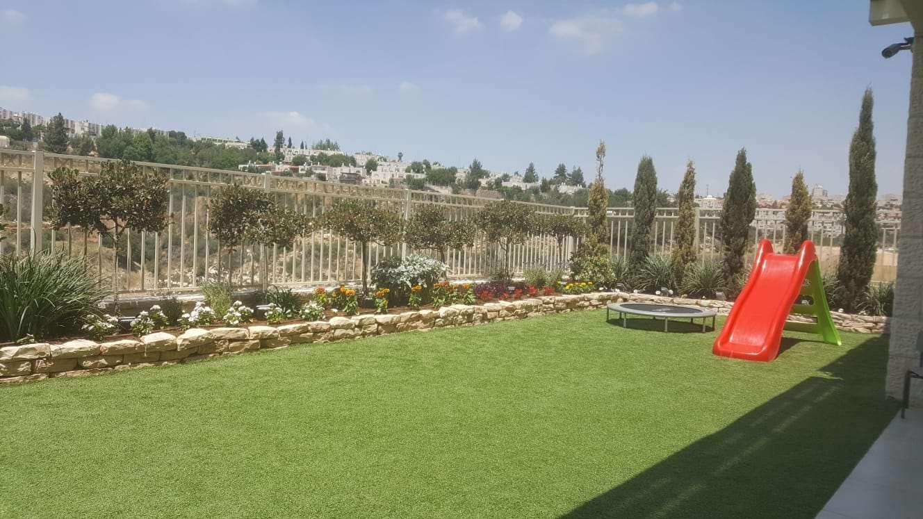 דירת גן, 5 חדרים, האתרוג, גבעת זאב