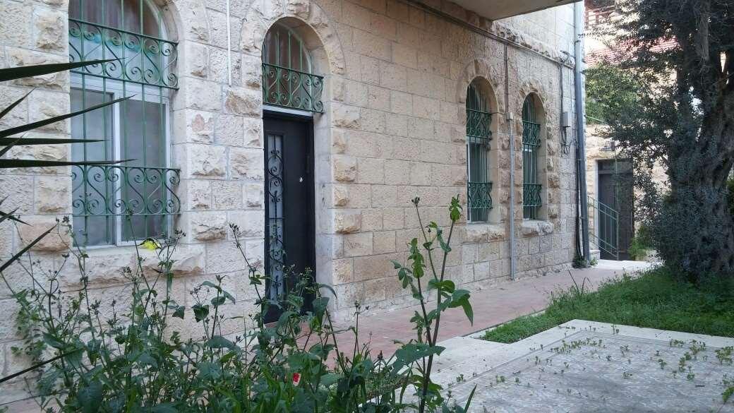 דירת גן, 3 חדרים, אסא, ירושלים