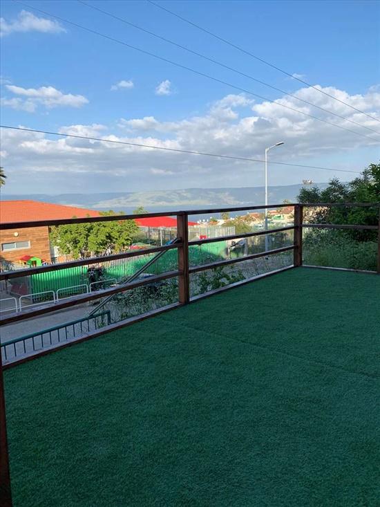 דירת גן למכירה 6 חדרים בטבריה יערה