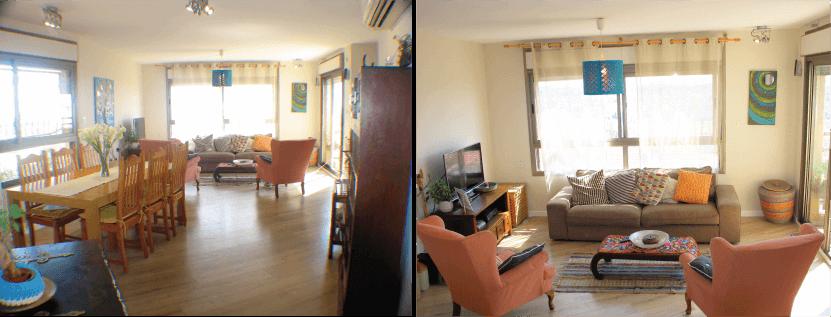 דירה, 5 חדרים, מגדל הלבנון, מודי...