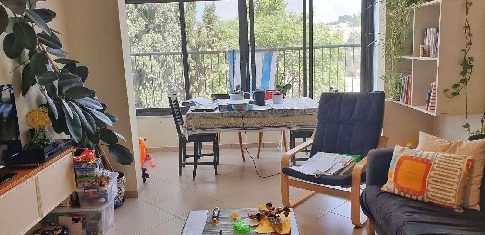 דירה, 3 חדרים, שמעוני, ירושלים