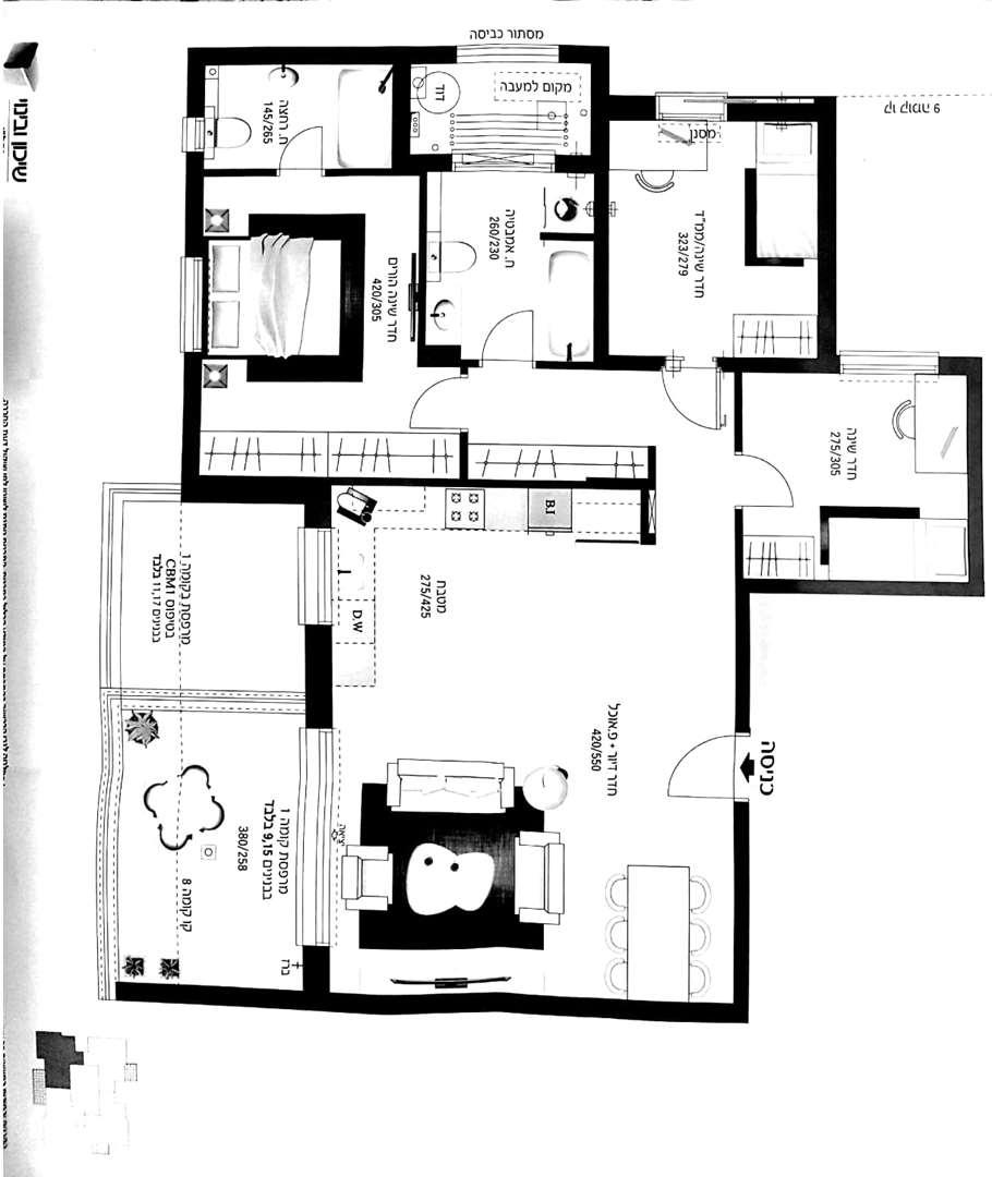 דירה, 4 חדרים, אין, אור עקיבא