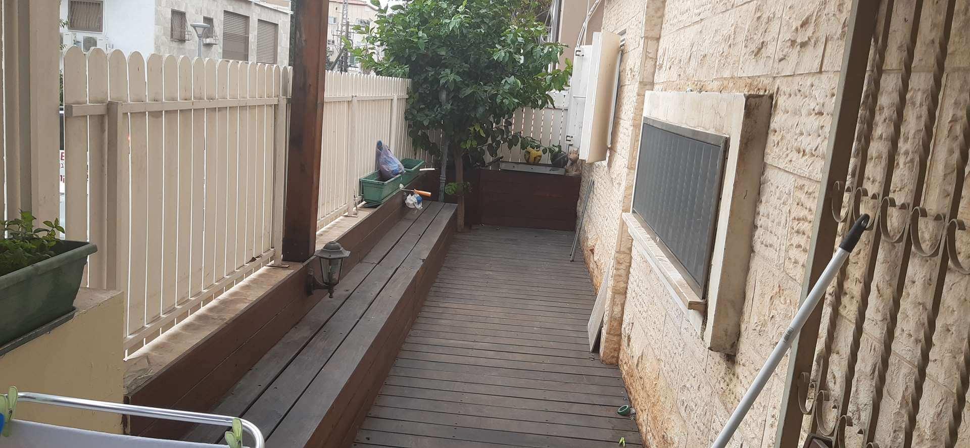 דירת גן למכירה