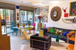 דירת גן למכירה 4 חדרים בתל אביב יפו בית פלט