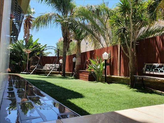 דירת גן למכירה 5 חדרים באשקלון הבוסתן  ברנע