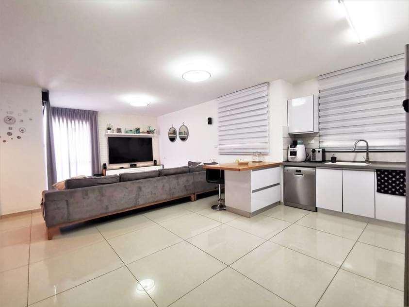 מטבח וסלון
