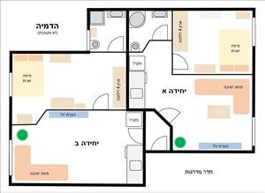 דירה למכירה 4.5 חדרים בבאר שבע שאול המלך