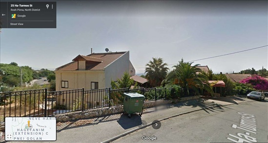 בית פרטי למכירה 8 חדרים בראש פינה התורמוס הזיתים