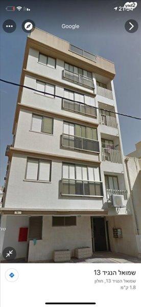 דירה למכירה 3 חדרים בחולון שמואל הנגיד
