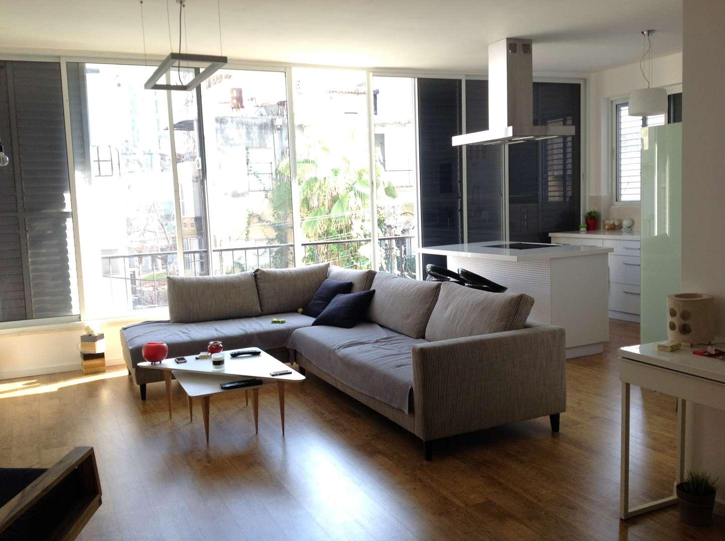 תמונה 1 ,דירה 3 חדרים בר כוכבא לב העיר תל אביב יפו