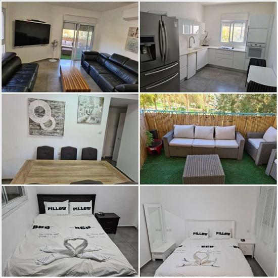 דירה להשכרה לנופש ותקופות קצרות 3 חדרים באילת נחל זרחן