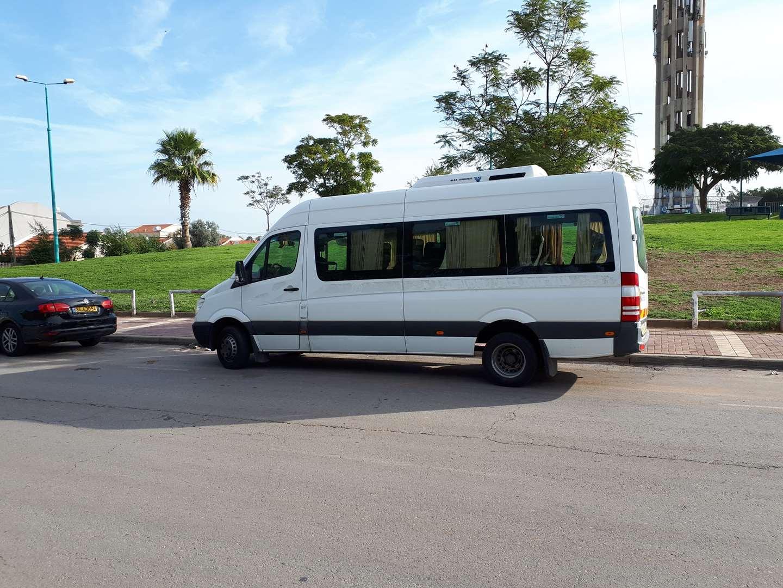 תמונה 1 ,מרצדס 519 אוטומטי 16 אפשרו, 19 מיניבוסים כללי