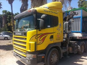 משאיות סקניה סמי מנוף