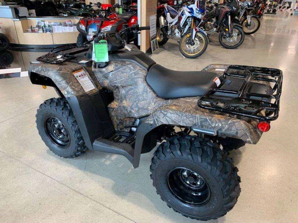 טרקטורונים פולריס 2021 Honda® FourTrax Rancher 4