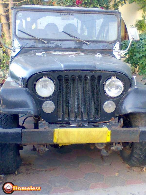 ג'יפ / Jeep  סי. ג`יי. 1986 יד  4