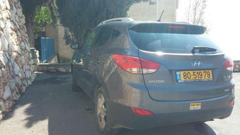 """תמונה 4 ,יונדאי ix35 יד 1 שנת 2012 66000 ק""""מ"""