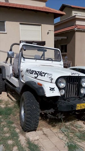 ג'יפ / Jeep  סי. ג`יי. 1989 יד  3