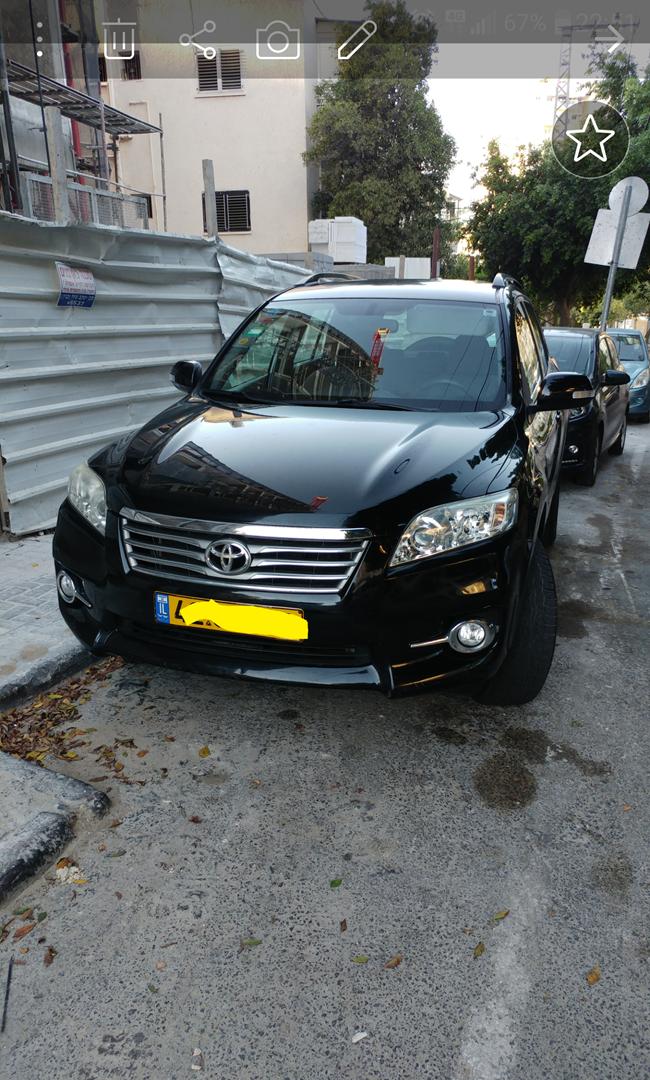טויוטה RAV 4 החדשה 2011 יד  1