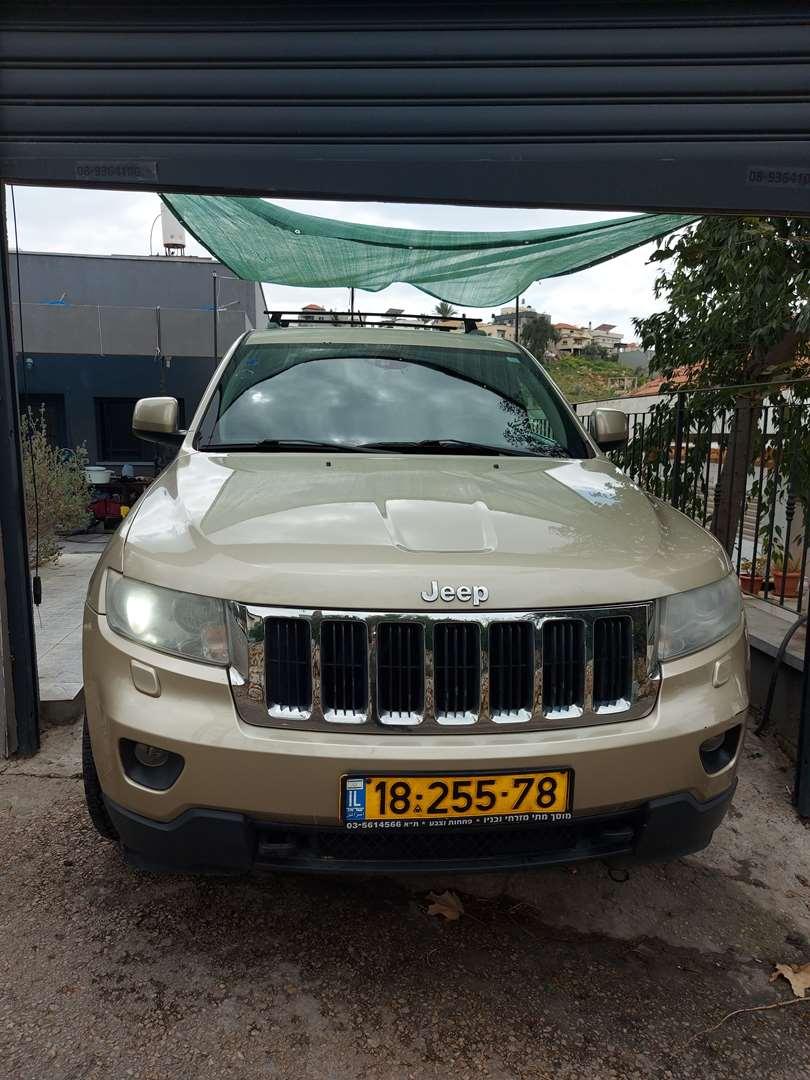 ג'יפ / Jeep  גרנד צ`ירוקי 2011 יד  1