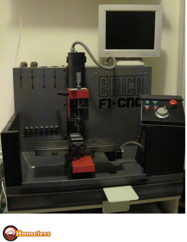 בלתי רגיל כרסומת CNC למכירה בחיפה 21000 שח | ציוד לתעשייה - מכונות | לוח יד TB-74