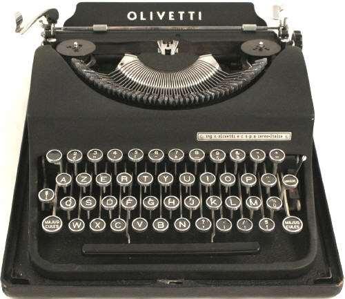 אספנות - מכונות כתיבה