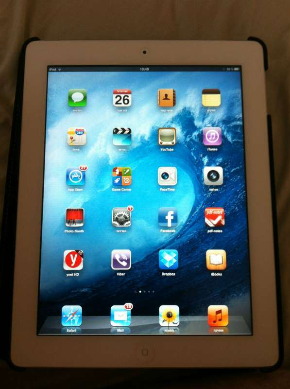 מוצרי Apple - IPAD
