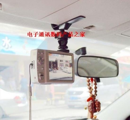 מחזק מגן שמש למצלמת דרך ברכב