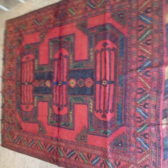 שטיח אפגני עבודת יד