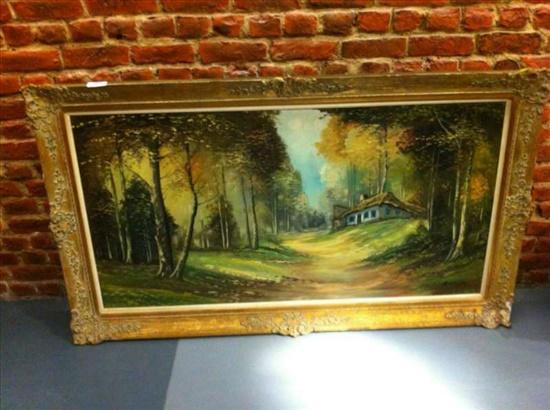 ציור שמן. 150cm x 70