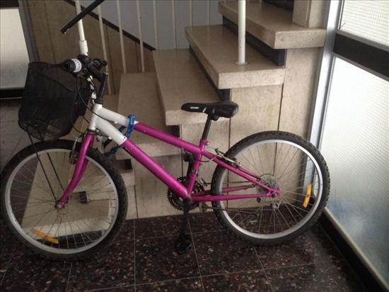 אופניים ורודות לבנות 10