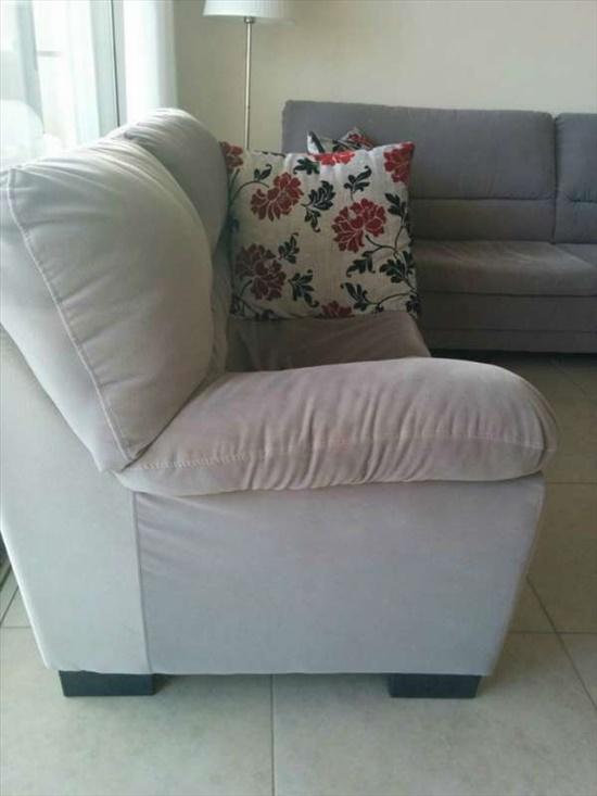ספה תלת מושבית +דו מושבית