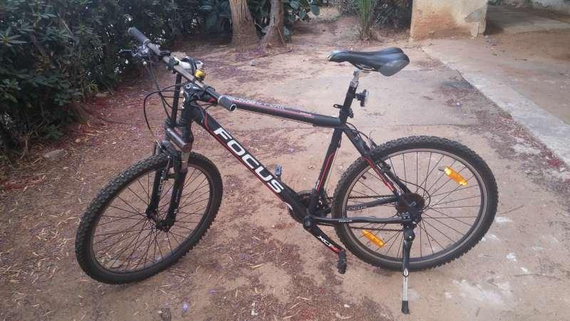 אופניים - הרים זנב קשיח