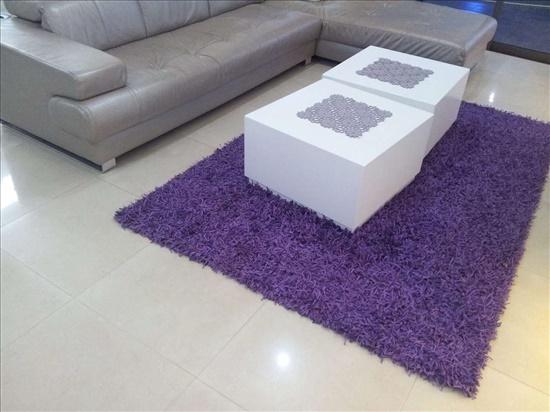 שטיח שאגי סגול מאי.די.דיזיין