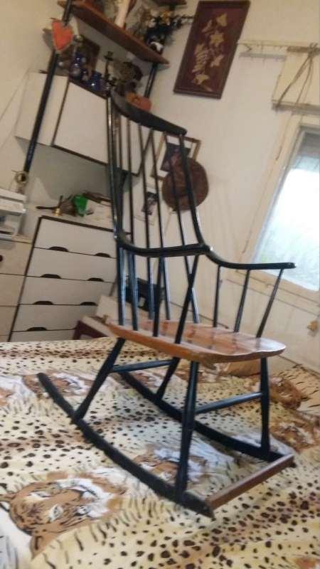 להפליא כיסא נדנדה עץ מלא--מחיר זול למכירה בטירה 690 שח | ריהוט - כיסא CC-32