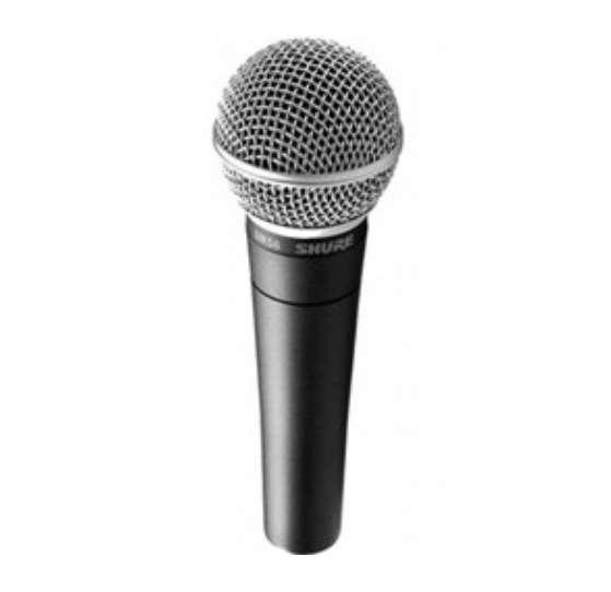 ציוד לדיג'יי ואולפנים - מיקרופונים